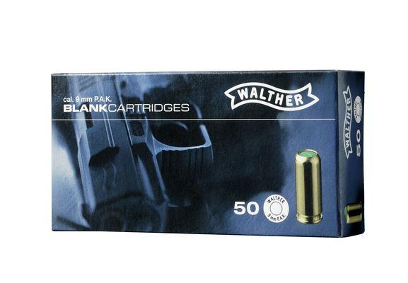 50 Walther Platzpatronen 9mm