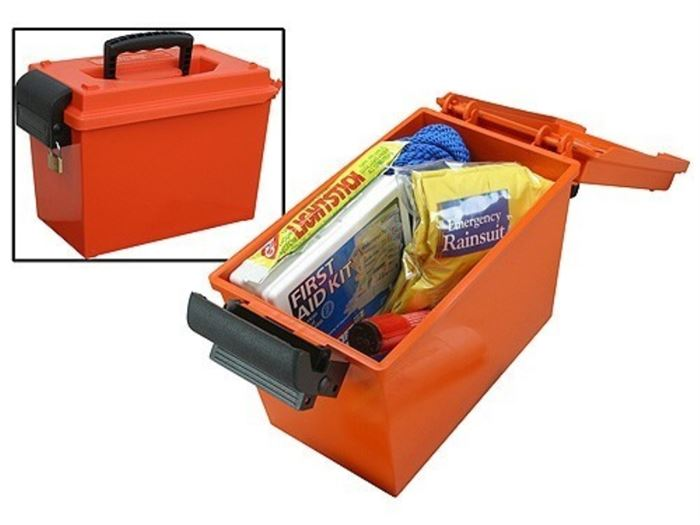 MTM SPORTSMAN`S DRY BOX orange