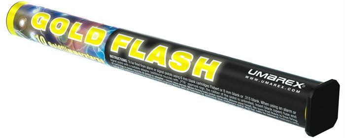 10 Pyro Gold Flash 15 mm