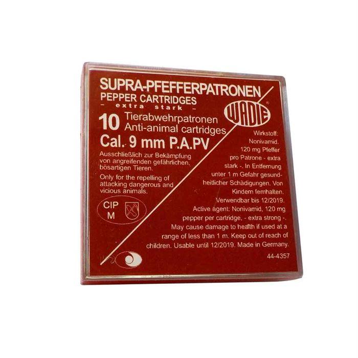10 WADIE 9mm PA SUPRA PFEFFER