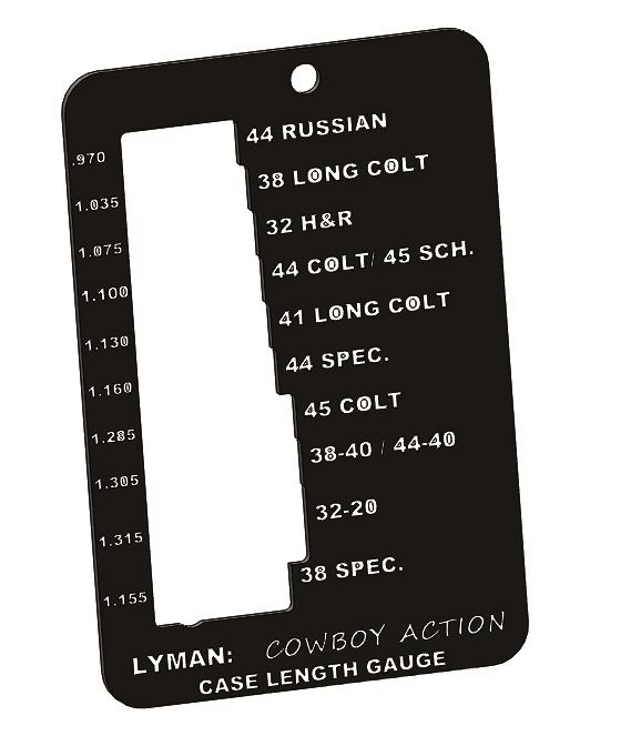 LYMAN CASE TRIM GAUGE COWBOY
