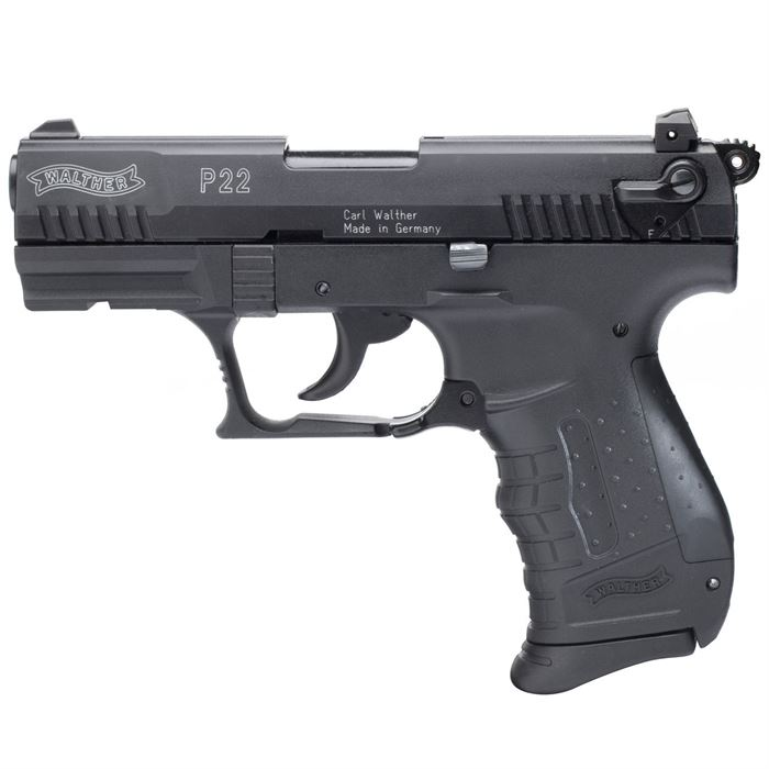 WALTHER P22 9mm PA BRÜNIERT